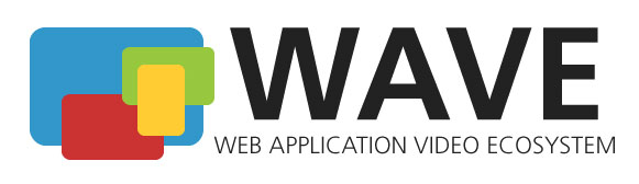 WAVE (Web Application Video Ecosystem) Project Logo